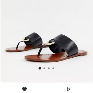 Aldo Leather Ring sandal